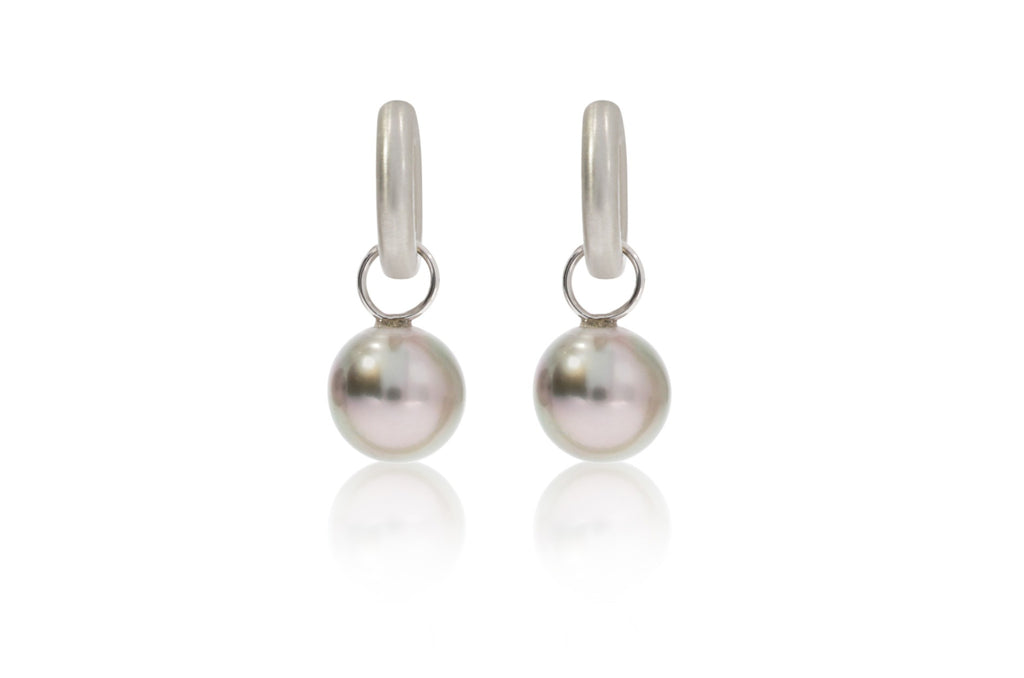 Gold Pearl Drops Earrings