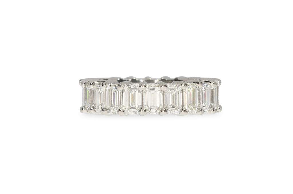 Platinum Eternity Band Ring