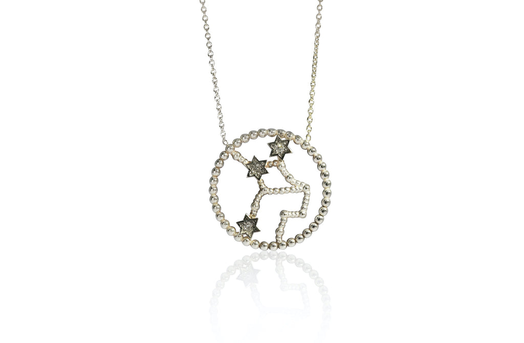 "Zodiac Necklace Diamond ""Virgo"""