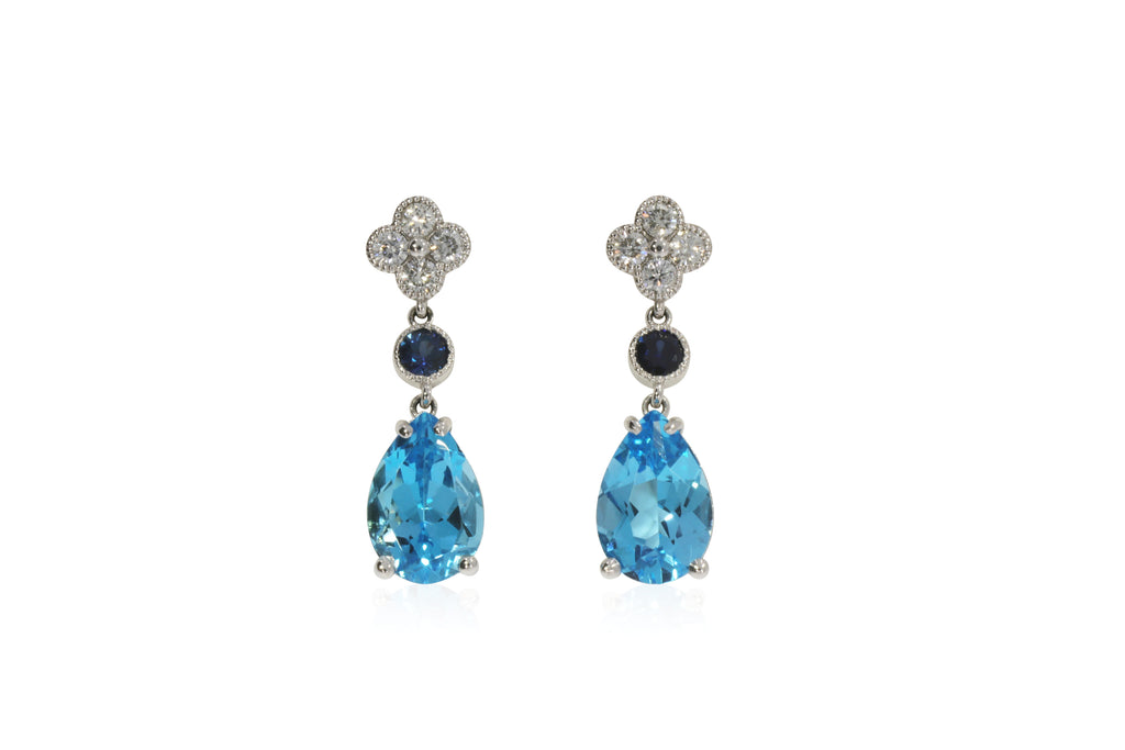 London Blue Earrings