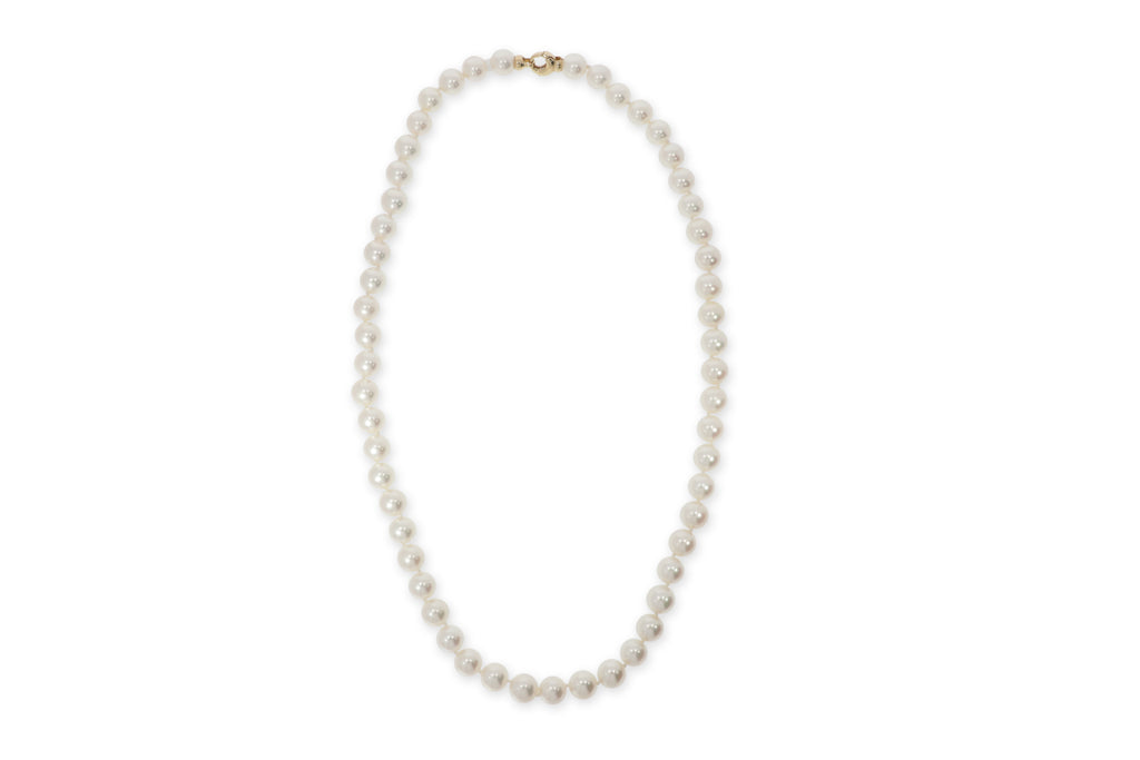 Pearls Yellow Gold Necklace