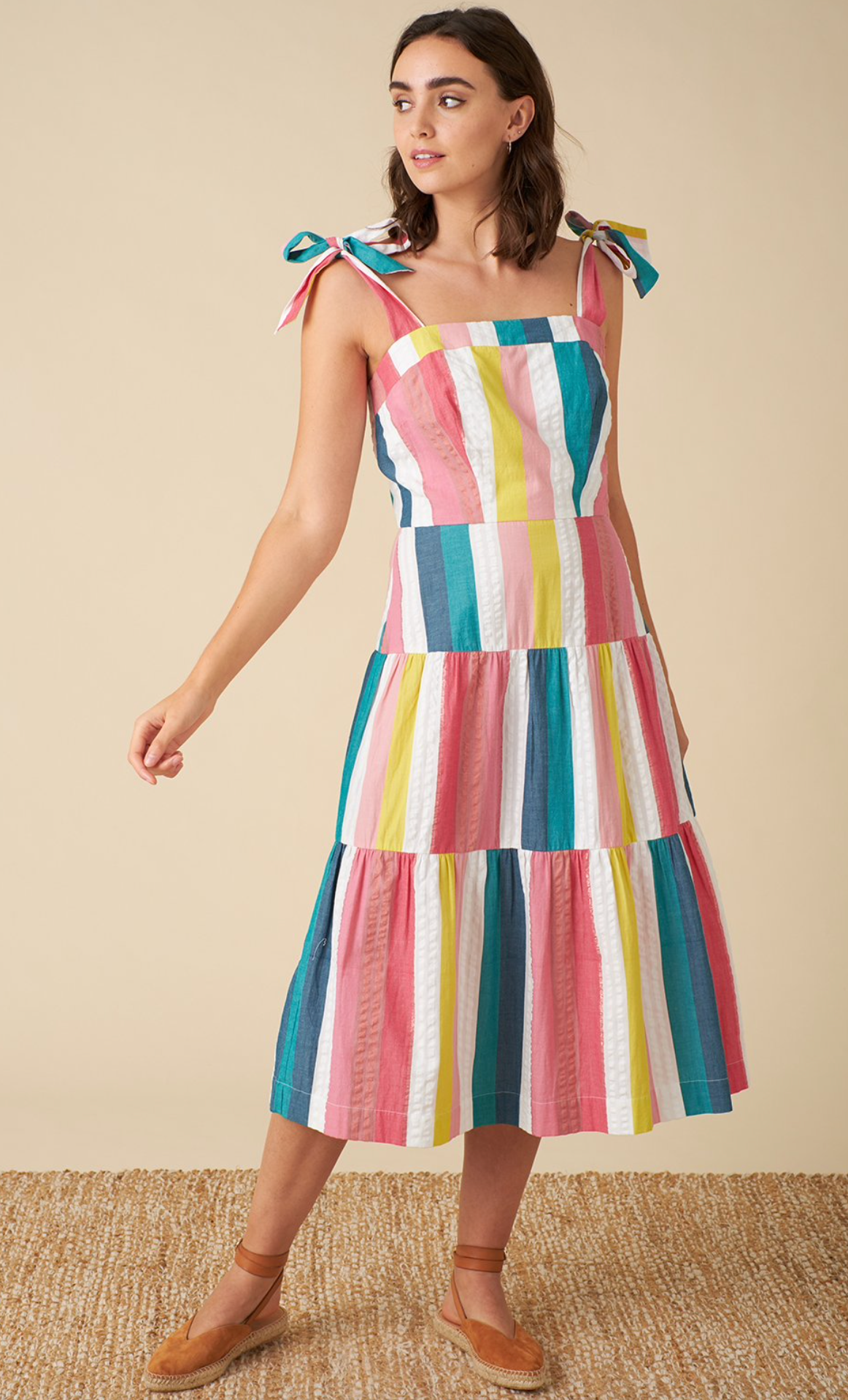Emily & Fin - Iona Summer Rainbow Dress