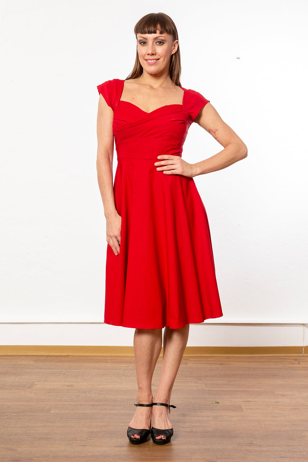 Stop Staring - Madstyle Swing Dress