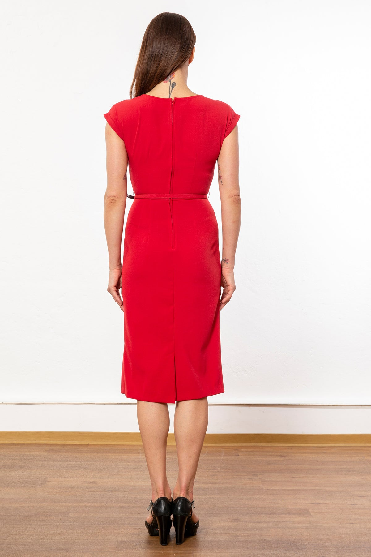 Stop Staring - Timeless Fitted Dress