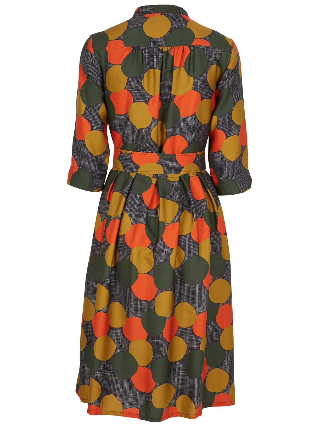 PALAVA - Cynthia Dress (Charcoal Autumn Forest)