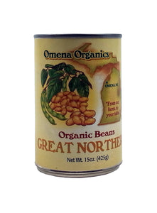 Great Northern Beans, Organic by Omena Organics of Michigan