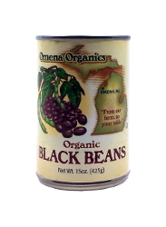 Black Beans, Organic by Omena Organics of Michigan