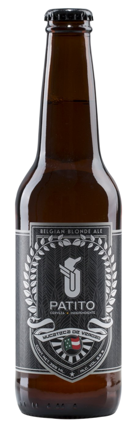 Cerveza Patito Belgian Blond Ale 355ml