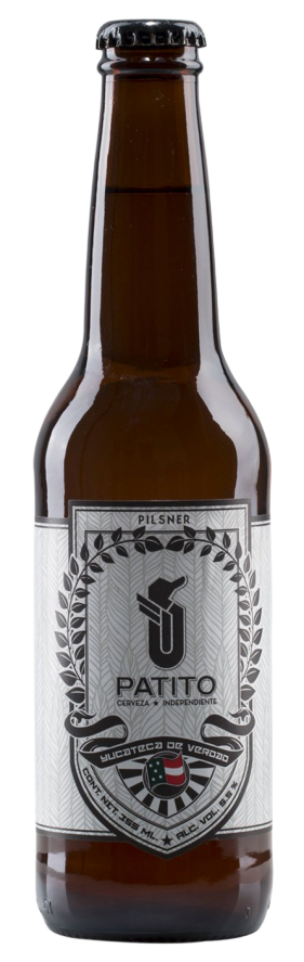 Cerveza Patito Pilsner Botella 355ml