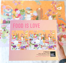 Load image into Gallery viewer, EPC FOOD IS LOVE PUZZLE