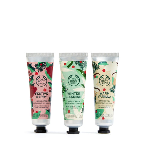 Christmassy Hand Cream Trio