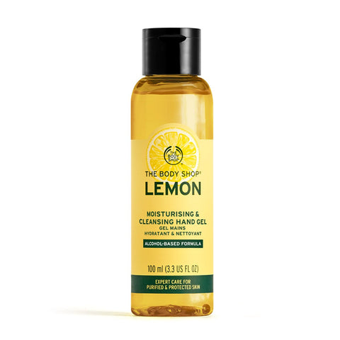 Lemon Moisturising & Cleansing Hand Gel 100ml