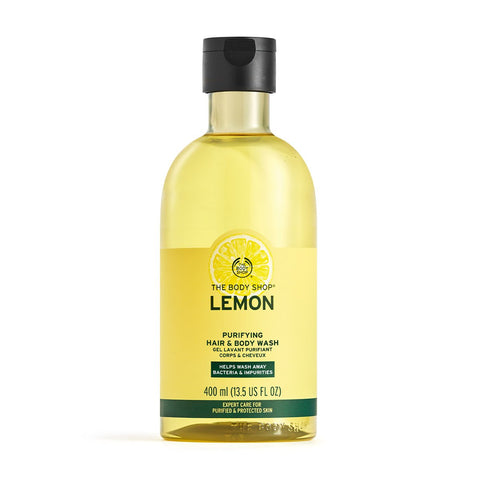 Lemon Purifying Hair & Body Wash 400ml
