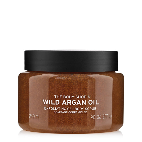 Wild Argan Oil Exfoliating Gel Body Scrub