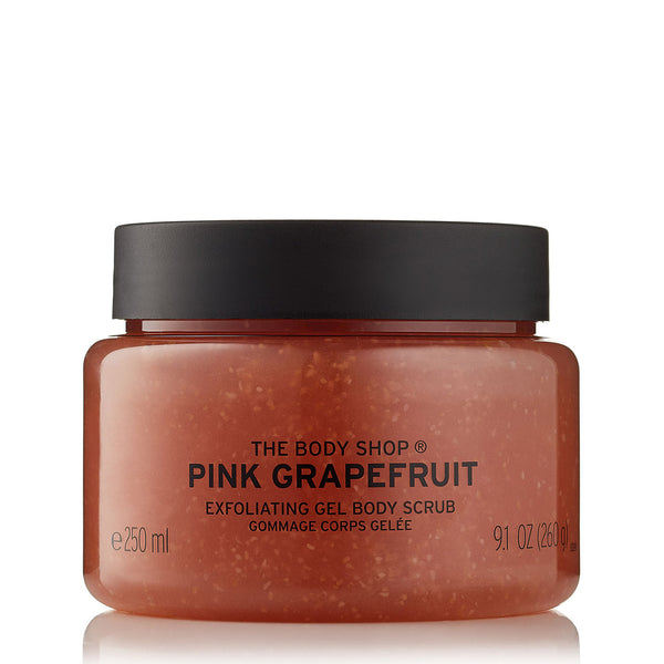 Pink Grapefruit Exfoliating Gel Body Scrub