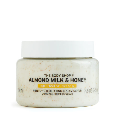 Almond Milk and Honey Gently Exfoliating Cream Scrub