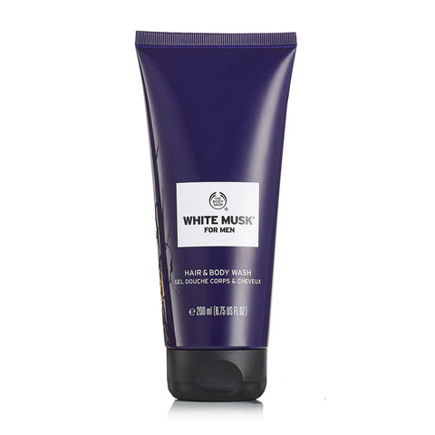 White Musk For Men Hair & Body Wash
