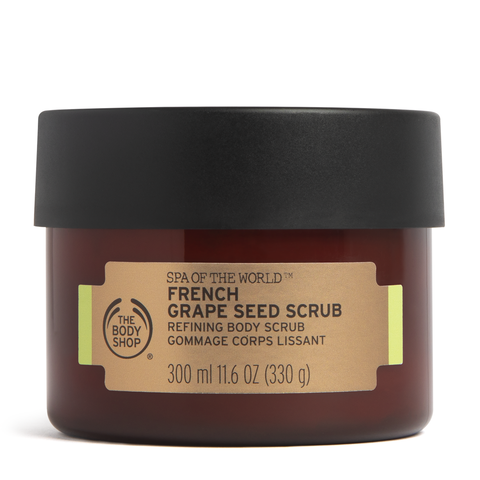 Spa of the World French Grape Seed Scrub