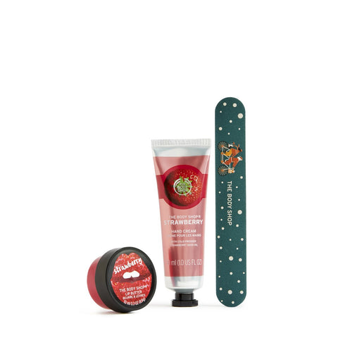Juicy Strawberry Lips, Hands & Nails Kit