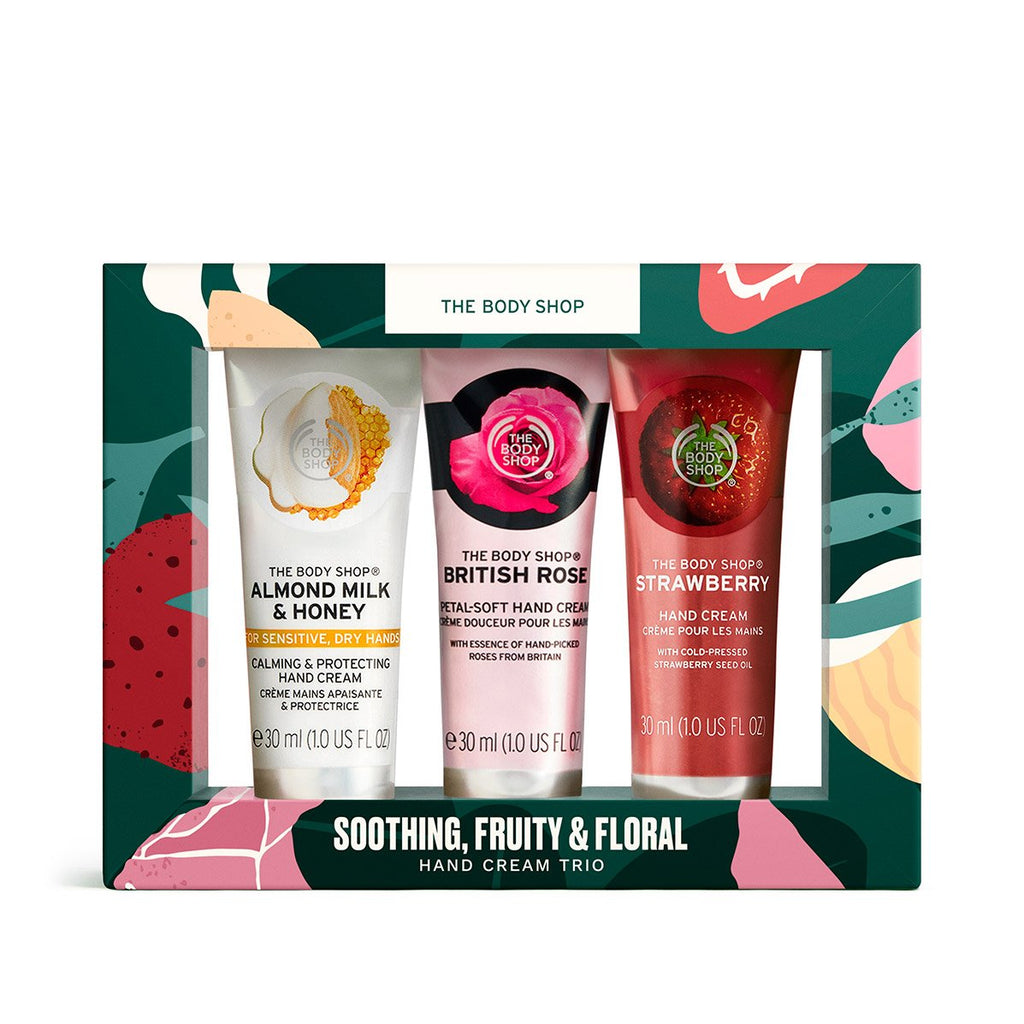 Soothing, Fruity & Floral Hand Cream Trio