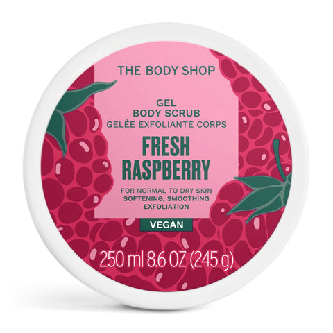 Fresh Raspberry Gel Body Scrub 250ml