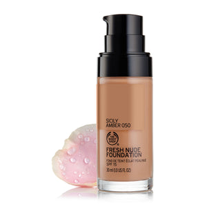 Fresh Nude Foundation SPF15 Sicily Amber 050