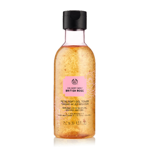 British Rose Petal-Soft Gel Toner