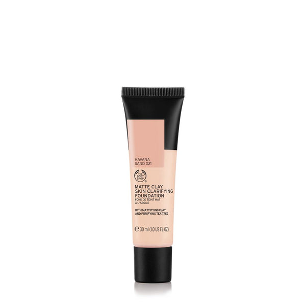 Matte Clay Skin Clarifying Foundation Havana Sand 021