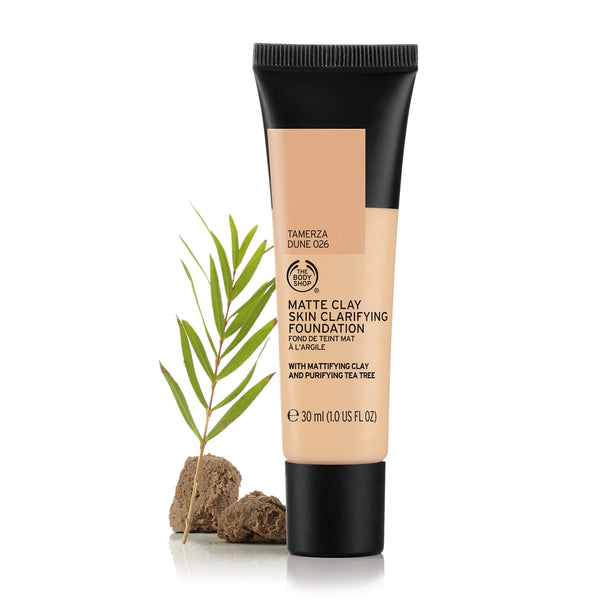 Matte Clay Skin Clarifying Foundation Tamerza Dune 026