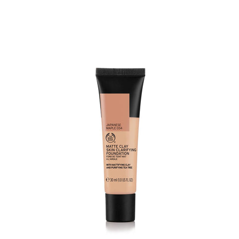 Matte Clay Skin Clarifying Foundation Japanese Maple 034