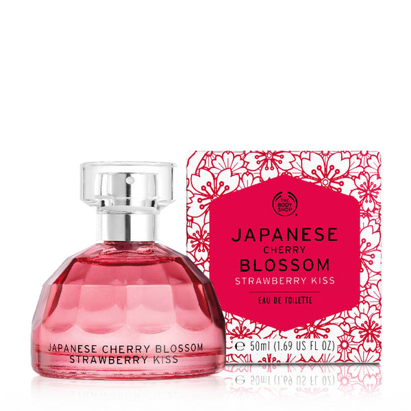 Japanese Cherry Blossom Strawberry Kiss Eau De Toilette
