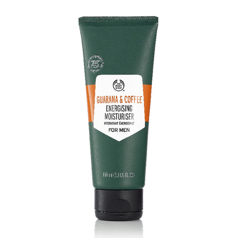 Guarana and Coffee Energising Moisturiser For Men