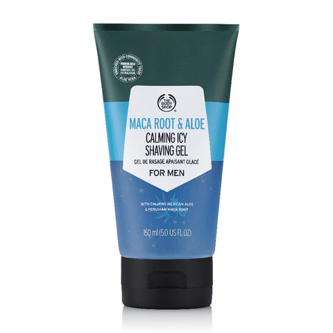 Maca Root & Aloe Calming Icy Shaving Gel