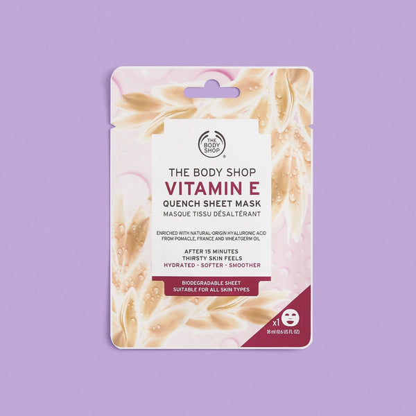 Vitamin E Quench Sheet Mask