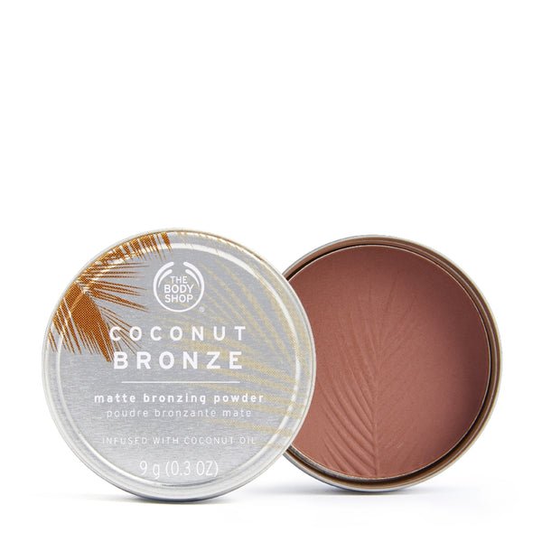 Coconut Bronze Matte Bronzing Powder Dark