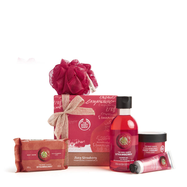 Juicy Strawberry Pampering Essentials