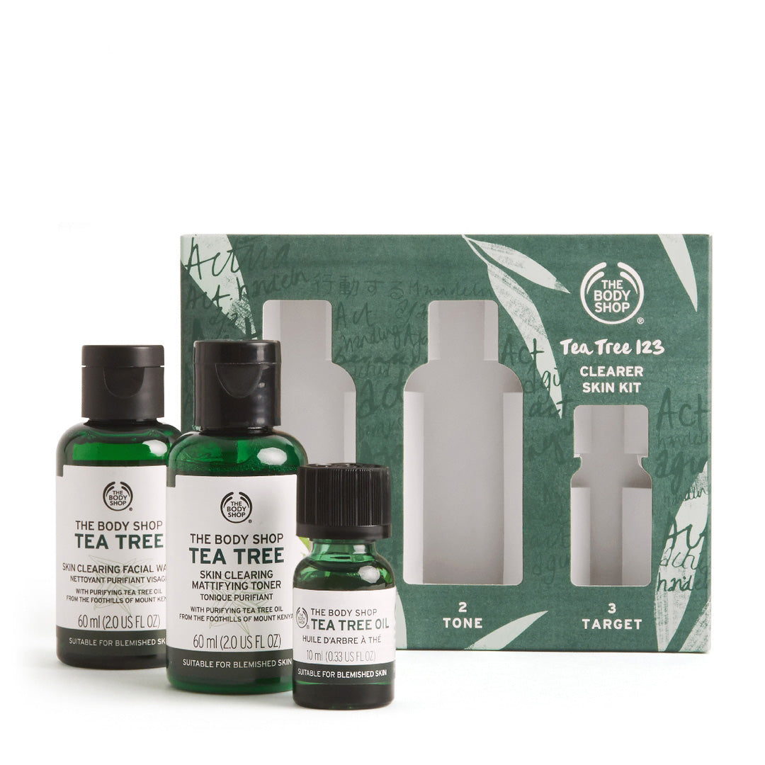 Tea Tree 123 Clearer Skin Kit