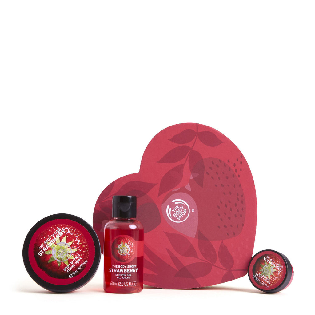 Sweet on You Strawberry Gift Set