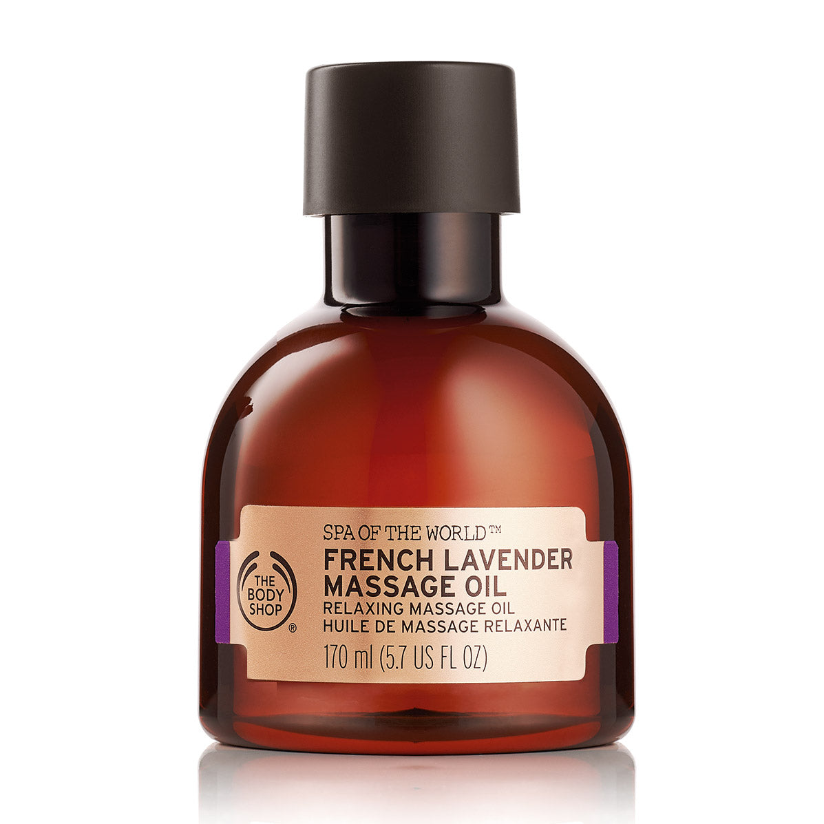 Spa of the World French Lavender Massage Oil