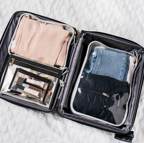 Clarity Packing Cube Trio - Spring Cleaning Checklist for Every Room in Your House
