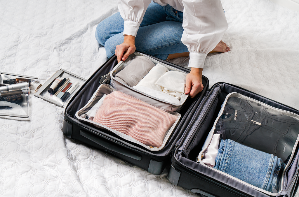 Clarity Packing Cube Trio - How to Use Packing Cubes Effectively to Maximize Storage When Traveling
