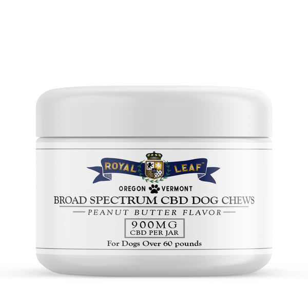 BROAD SPECTRUM CBD DOG CHEWS FOR DOGS OVER 60 POUNDS (COMING SOON)