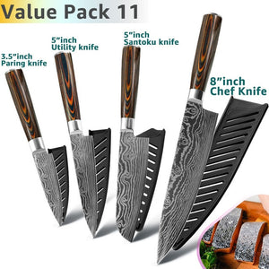 Japanese Chef Knife Set