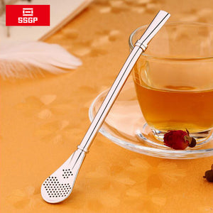 Yerba Mate Stainless Steel Straw