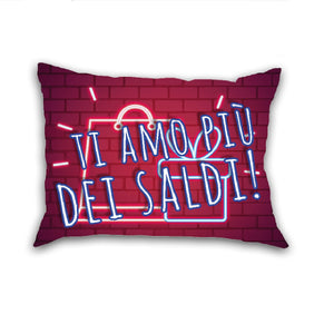 Mini Cuscino Idea Regalo Ragazza Neon