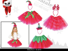 Load image into Gallery viewer, Set 2 pezzi vestito bambina natalizio