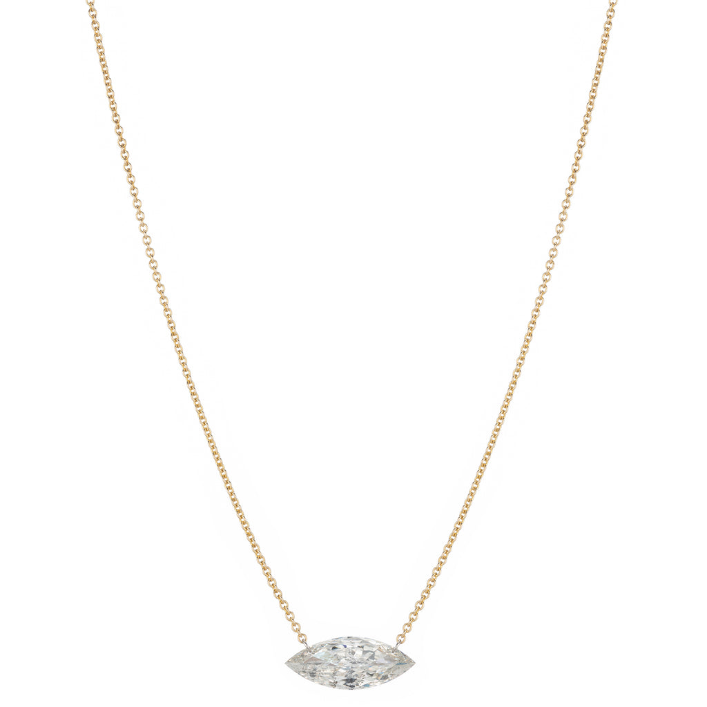 Marquise Station Necklace - Large
