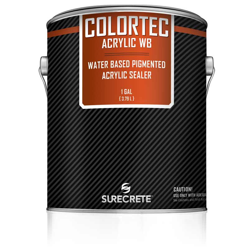 Colored Water-Based Outdoor Concrete Paint and Sealer ColorTec AcrylicWB™