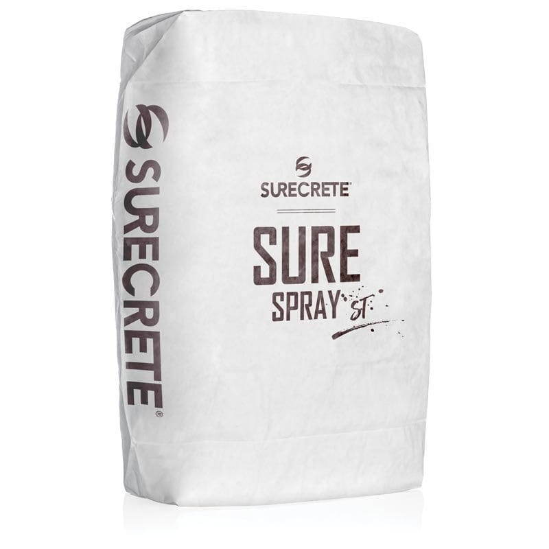 Sprayable Concrete Overlay Mix For Making Floor Thin Textures – SureSpray™