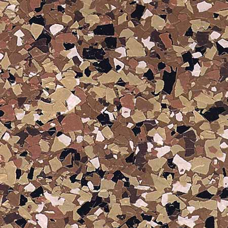 1/4″ Epoxy Floor Flake Chips for Garage Floor Coatings DK Flakes™